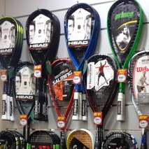 ONLINE PROSHOP - BUY SQUASH RACKETS HERE