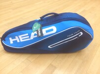 Head Squash Bag Tour Team Blue 2 zip