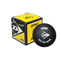 Dunlop Squash Ball Double Yellow Dot