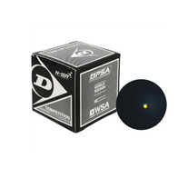 Dunlop Squash Ball Single Yellow Dot